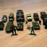 Игрушки машинки Военная техника, Новосибирск