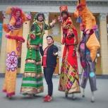 Аниматоры. Ходулисты!, Новосибирск