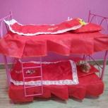 Кукольная двухъярусная кроватка, Новосибирск