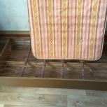 Кровать с матрасом б/у, Новосибирск