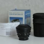 Объектив мс Пеленг 8 mm f/ 3.5 А Fisheye, Новосибирск