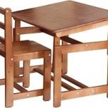 """Продам комплект Детский стул и стол """"Фея"""", Новосибирск"""