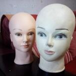 Продам манекены женские головы б.у., Новосибирск