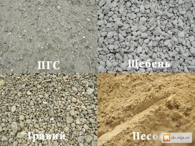 Цена на песок и гравий строительные организации шексны