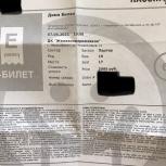 Билет на концерт Димы Билана, Новосибирск
