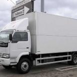 Перевозки от трех до пяти тонн, фургоны до 45 кубов, Новосибирск