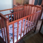 Кроватка-качалка детская б/у, Новосибирск