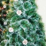 Искусственная новогодняя елка с настоящими шишками, Новосибирск