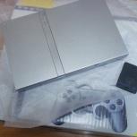 Sony PlayStation 2 шитая, 2 джойстика, карта памяти, Новосибирск