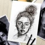"""Курс по рисованию """"Графика"""", Новосибирск"""