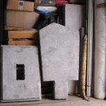 Простое бетонное надгробие, Новосибирск