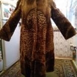 продам мутоновую шубу б/у, Новосибирск