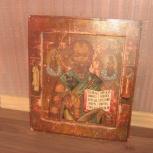 Икона Николая Чудотворца конец 19 века Новосибирск, Новосибирск