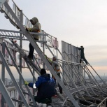 Промышленные альпинисты. Высотники. Монтажники, Новосибирск