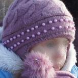 Шапка и шарф для девочки (4-7 лет), Новосибирск