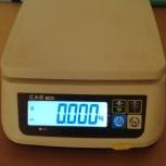 Весы электронные порционные CAS SWN-6 (DD), Новосибирск