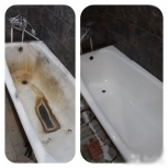 Реставрация ванн жидким акрилом, Новосибирск