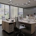 """Продам качественные офисные столы """"Berlin"""" (дэфо), Новосибирск"""