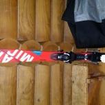 Продам отличные спортивные горные лыжи 145, Новосибирск