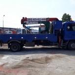 Манипулятор 5 тонн с краном 3 тонны (Самогруз), Новосибирск
