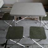 Аренда прокат столов и стульев банкетных и походных, Новосибирск