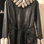 Продам кожаное пальто, Новосибирск
