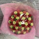 Букет из шоколадных роз (51 шт), Новосибирск