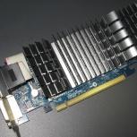 Продам видеокарту ASUS GeForce EN210 Silent/DI/1GD3/V2(LP), Новосибирск