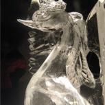 Ледяные фигуры, скульптуры, Новосибирск