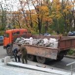Вывоз мусора, самосвалы, газели, камазы, строительный мусор, грузчики, Новосибирск
