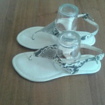 сандали из натуральной кожи Питона 37р.( новые), Новосибирск