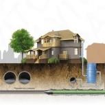Строительство водопровода, канализации ГНБ., Новосибирск