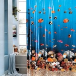 Штора для ванной комнаты на заказ, Новосибирск