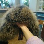 Новая натуральная меховая шапка, Новосибирск