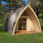 Построим дом-студию за 10 дней для комфортного отдыха на природе, Новосибирск