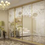 Зеркальные двери купе 2шт 2600*900, Новосибирск