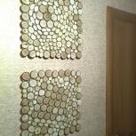 Лофт * Эко * Панно из спилов дерева, Новосибирск