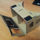 Очки виртуальной реальности для смартфонов cardboard, Новосибирск