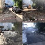 Асфальтирование, благоустройство территоррий, ямочный ремонт, Новосибирск