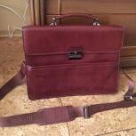 Мужской кожаный портфель, Новосибирск