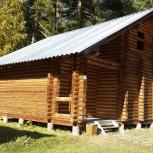 Сруб дома на базу отдыха, Новосибирск