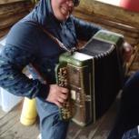 Баянист на праздник, вечеринку, пикник, девичник, банкет, фуршет и т.д, Новосибирск