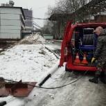 Аварийная прочистка засоров канализации, Новосибирск