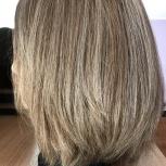 Парик из натуральных русых волос, Новосибирск