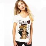 Женские футболки под реализацию. Собственный бренд L.A.W, Новосибирск