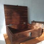 Темный деревянный ящик, Новосибирск