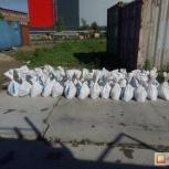 Фасованый песок, мешки по 25кг, Новосибирск
