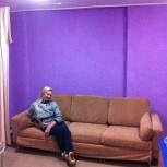 Продам диван офисный немецкий вечный чехлы снимаются и стираются, Новосибирск