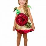 Карнавальный костюм цветок розочка, Новосибирск