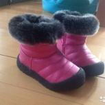 Зимние сапоги для девочки, Новосибирск
